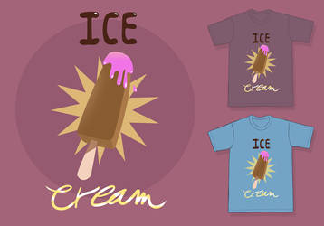 Ice Cream Shirt by OzMa0
