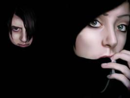 Fear vs Fascination by FuchsiaG