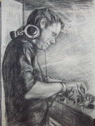 A dj Sketch by makeupandmayhem