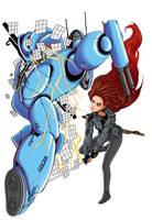 Robo-battle by markador