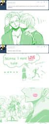 'Coz Sanji makes LOVE by ArcielFreeder