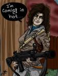 Melissa's coming in hot by marcosjoel777