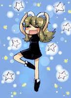 _.::Blue Sparkles::._ by Umbra-Flower