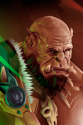 Orgrim Doomhammer by Fresco24