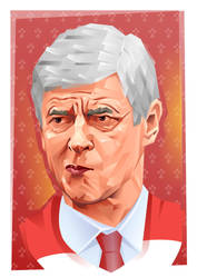 Arsene Wenger by Fresco24