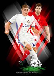 Real - Bayern by Fresco24