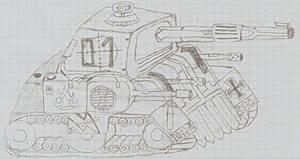 Valkyrie tank by ekip
