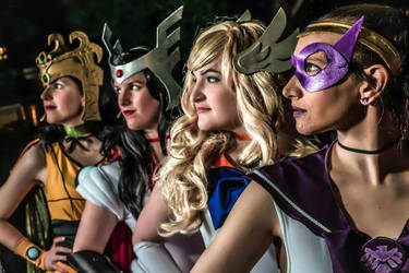 The Sailor Avengers by KayleeOliverCosplay