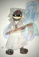 Shadow the Reaper + Maria the Ghost: Contes Entry by ShadAmyfangirl129