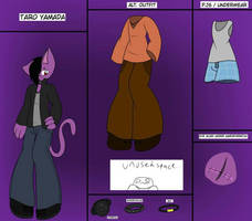 Taro Yamada Ref/ Updated Profile by ShadAmyfangirl129