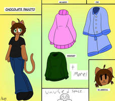 Chocolate Pagoto Ref / Updated Profile by ShadAmyfangirl129