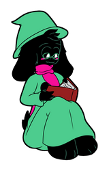 Let's Watch Ralsei Read! by ShadAmyfangirl129