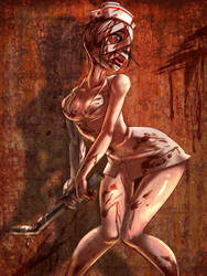 Silent Hill Nurse by shygay