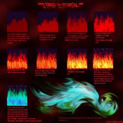 Fire Tutorial by windancer53