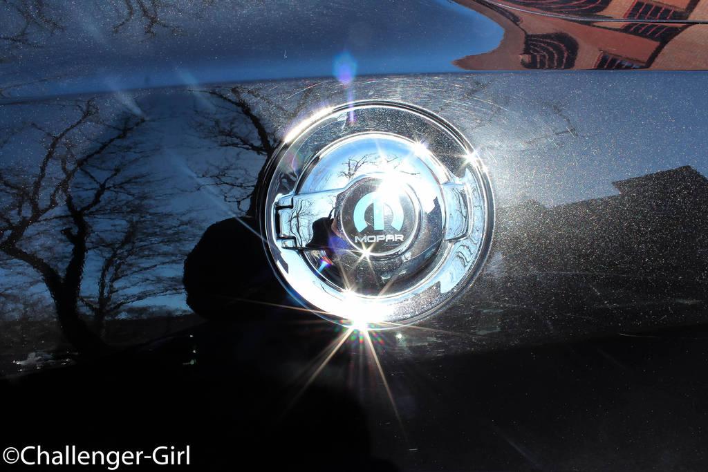Petty Custom Black Dodge Challenger Gas Cap By Demonichellcat On