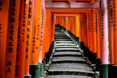 Fushimi Inari by nikhil