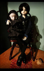 Armand and Czes: new family members by fading-memories
