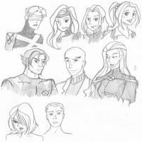 X-Men Evolution by an1mei3