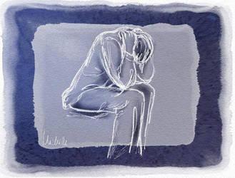 Feeling Blue by michbehar