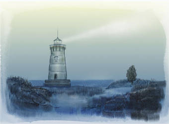 Light house by michbehar