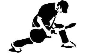 Rocker Stencil by PumkinMoonchild