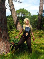 Barbarella on a mission! by Kelly-violet