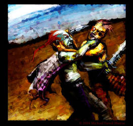 Brother against brother by parallelodrome