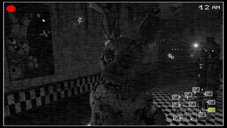 Fazbear's Fright - Security Footage by Endlesshunter