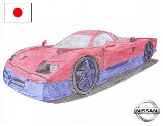 Nissan R390 by Sir-Genesis