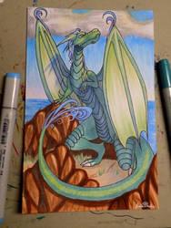 [Commission] Loivissa the Dragon by Joanna-artist