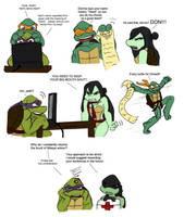 Nari's deed TMNT by Lily-pily