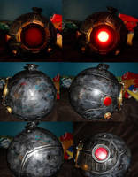 Bioshock helmet details by Lily-pily
