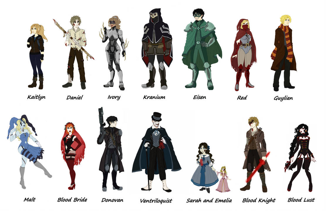 Void characters redo by Lily-pily