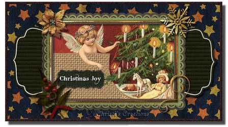 Christmas Joy Card by Christi-Dove
