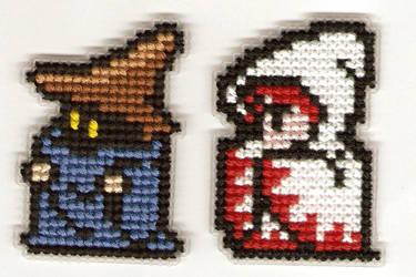 Final Fantasy Sprites by Kiela-Starcatcher