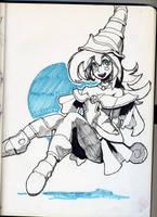 Dark Magician Girl by andaerz