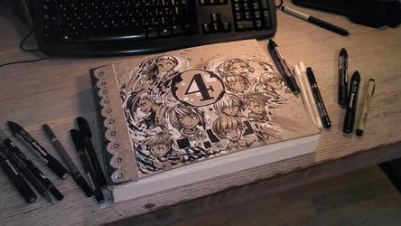 Sketchbook Cover by andaerz