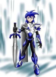 Destiny Knight design for Teen Titans by jaguarcats