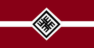 Latvia Nationalist by Politicalflags