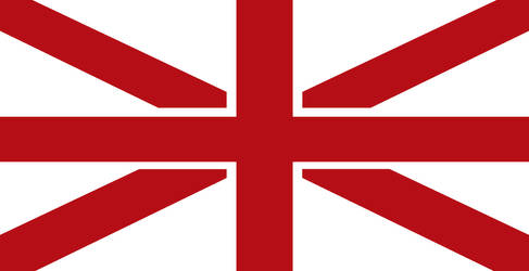 UK flag without Scotland by Politicalflags