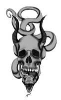 SnakeSkull09 by Silvro
