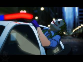 Cop Car Joker by ZeeMendoza