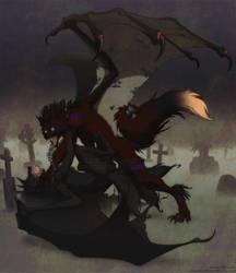 COMMISH4: darlenewolfen by ZeeMendoza