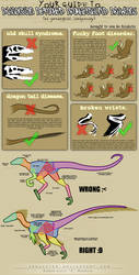 TUTORIAL: how to draw raptors by Freakzter