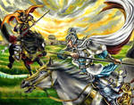 The Battle of Jiameng Pass by Amelie-the-Fox