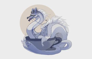 London fog baby tea dragon (CLOSED by Grimmla
