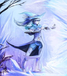 Mage of Frost by binoftrash