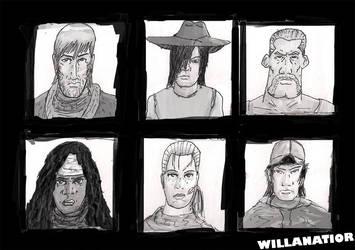 Walking the Dead by Willanatior