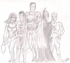 League of Justice by Willanatior