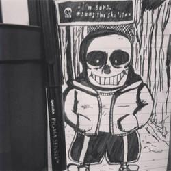 I'm Sans, Sans The Skeleton by Willanatior